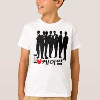 I Heart KPOP in Korean  Kids T-Shirt