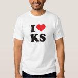 I Heart KS - Kansas T Shirt