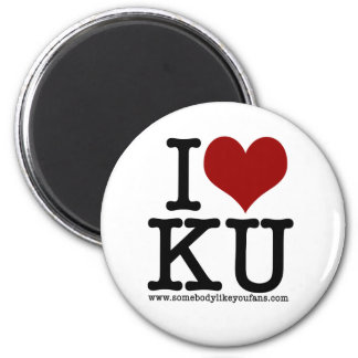 I Heart KU Magnet