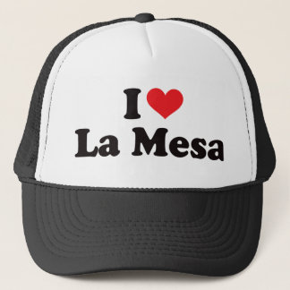 I Heart La Mesa Trucker Hat