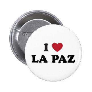 I Heart La Paz Bolivia Button