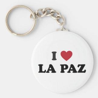 I Heart La Paz Bolivia Keychain