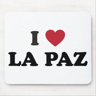I Heart La Paz Bolivia Mouse Pad