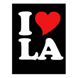 I heart LA Postcard