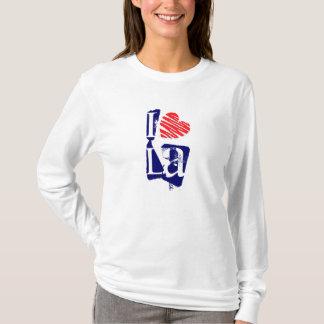 I Heart LA Retro Fashion T-Shirt Love Los Angeles