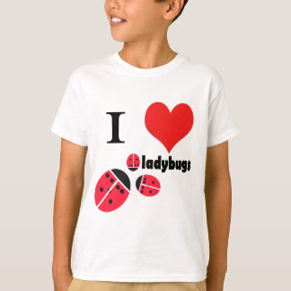 I heart ladybugs T-Shirt