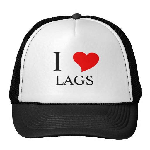 I Heart LAGS Trucker Hat
