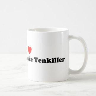 I Heart Lake Tenkiller Coffee Mug