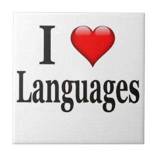 I heart Languages Tile