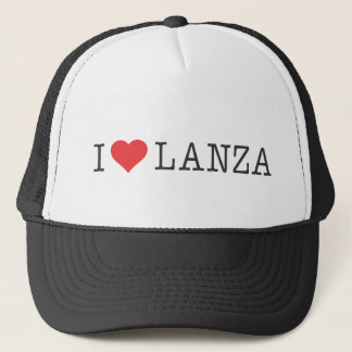 I Heart Lanza Trucker Hat
