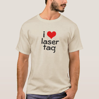 I Heart Laser Tag T-Shirt