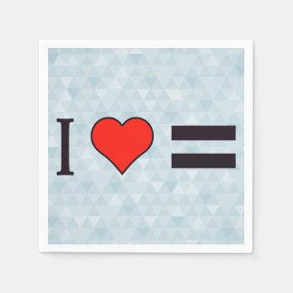 I Heart Law Of Equivalent Exchange Napkin