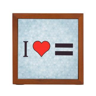 I Heart Law Of Equivalent Exchange Pencil/Pen Holder