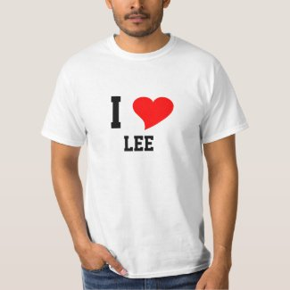 I Heart Lee T-Shirt