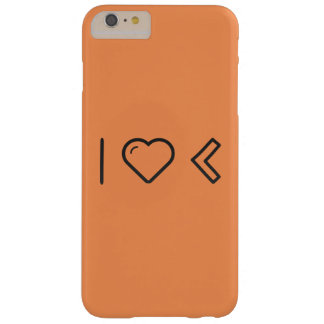 I Heart Lefts Barely There iPhone 6 Plus Case