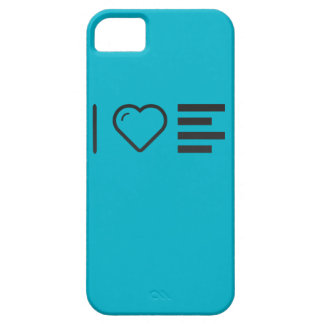 I Heart Lefts iPhone 5 Case