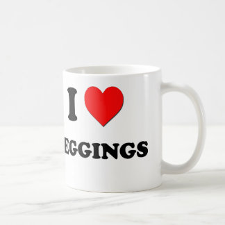 I Heart Leggings Coffee Mugs
