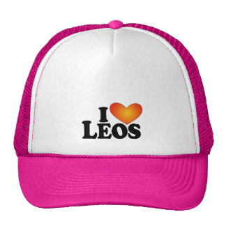 I (heart) Leos - Lite Multi-Products Trucker Hat