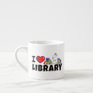 I Heart Library Mug (small)