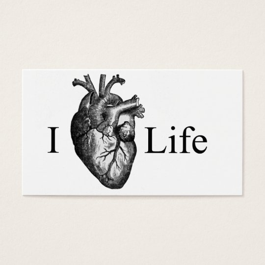 I Heart Life Business Card