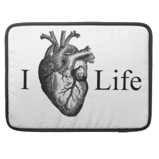 I Heart Life Sleeve For MacBooks