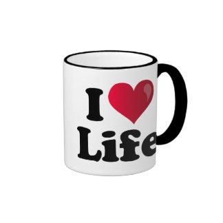 I Heart Life Coffee Mug