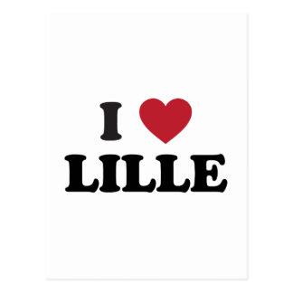 I Heart Lille France Postcard