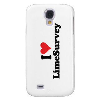 I Heart LimeSurvey Samsung Galaxy S4 Covers