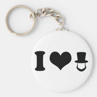 I Heart Lincoln Keychain