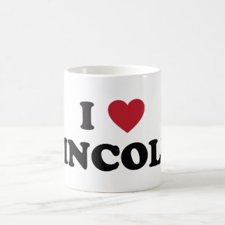 I Heart Lincoln Nebraska Basic White Mug