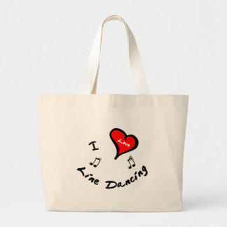 I Heart Line Dancing Bag