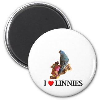 "I ""heart"" linnies magnet"