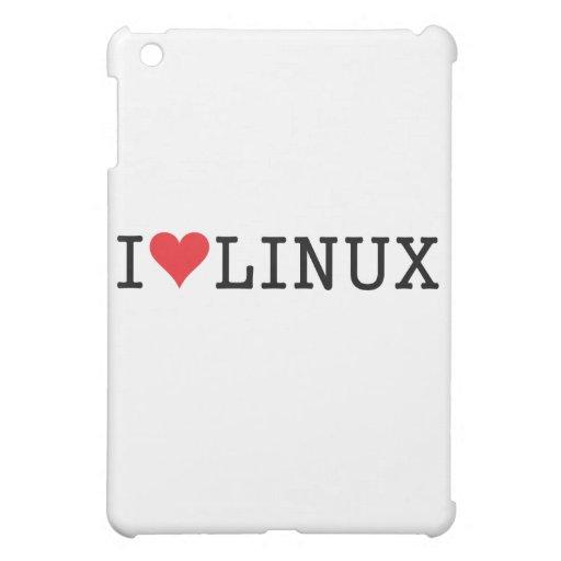 I Heart Linux 2 Case For The iPad Mini