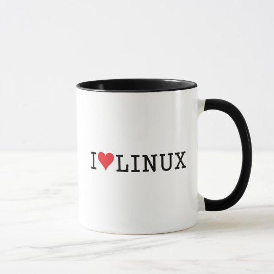 I Heart Linux 2 Mug