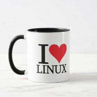 I Heart Linux Mug