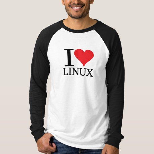 I Heart Linux T-Shirt