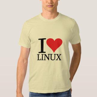 I Heart Linux Tee Shirt