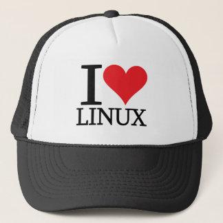 I Heart Linux Trucker Hat