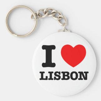 I Heart Lisbon Keychain