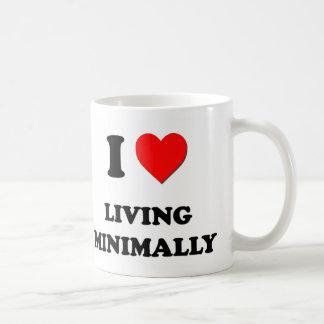 I Heart Living Minimally Classic White Coffee Mug