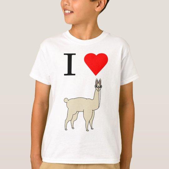 i heart llama T-Shirt
