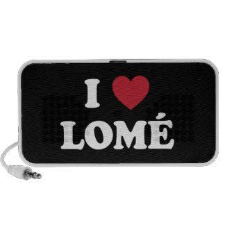 I Heart Lome Togo Mini Speaker