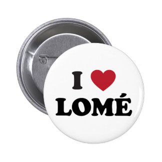 I Heart Lome Togo Pinback Button