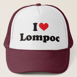 I Heart Lompoc Trucker Hat