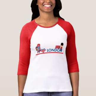 I Heart London With Phone Booth Bus and More T-Shirt