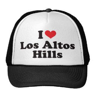I Heart Los Altos Hills Trucker Hat