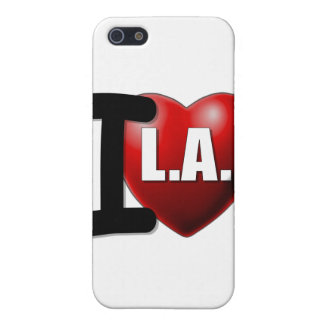 I Heart Los Angeles - I Love LA Cases For iPhone 5