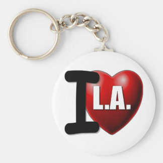 I Heart Los Angeles - I Love LA Key Chains