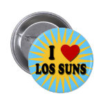 I Heart Los Suns I Love Los Suns Tshirts Pinback Buttons