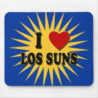 I Heart Los Suns I Love Los Suns Tshirts Mousepad